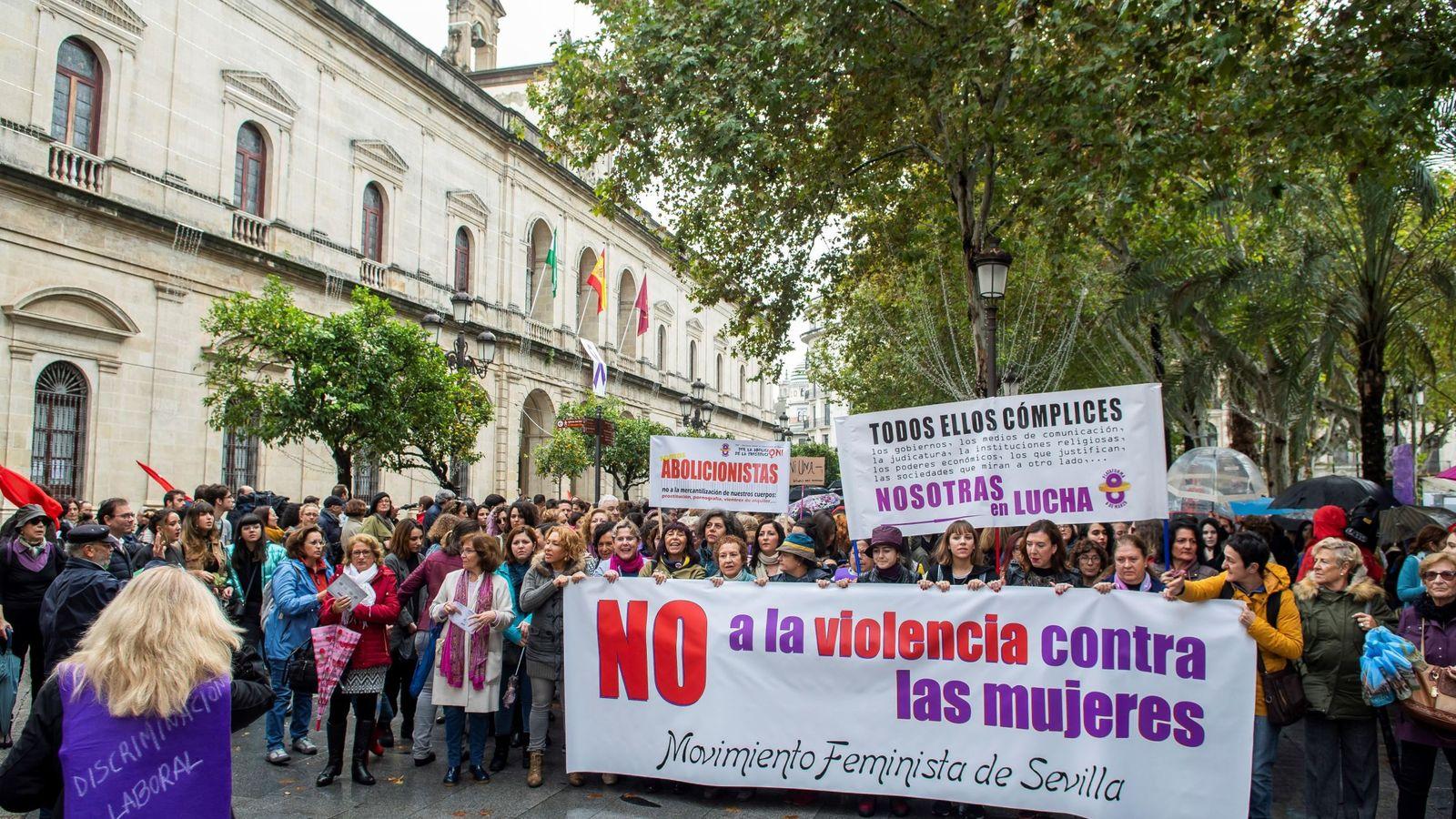 Foto: Día internacional de la eliminación de la violencia contra la mujer