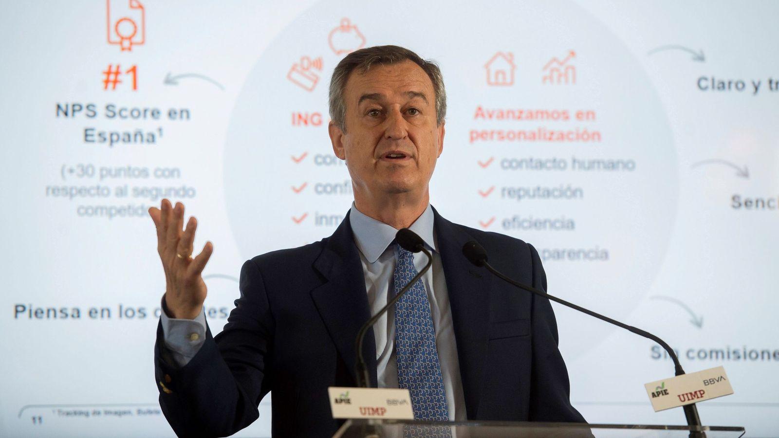 Foto: César González Bueno, presidente de ING España. (Efe)