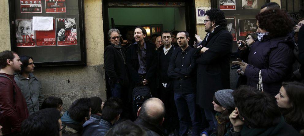 Foto: Pablo Iglesias, después de la presentación de 'Podemos'. (Reuters)