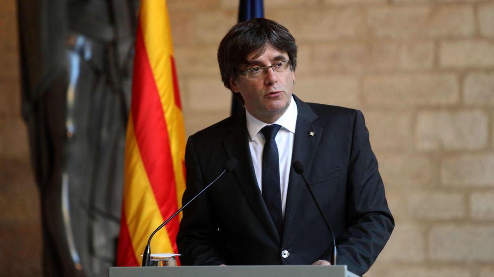 Foto: Puigdemont rechaza convocar elecciones por la acción vengativa del Estado