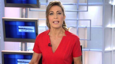 El percance que ha sufrido Ángeles Blanco en directo en 'Informativos Telecinco'