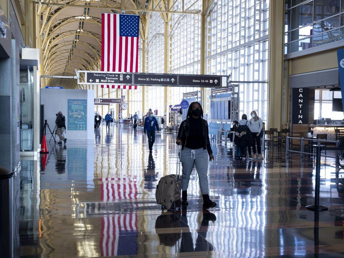 Foto: El aeropuerto Ronald Reagan, en Arlington, Virginia, EEUU. (EFE)