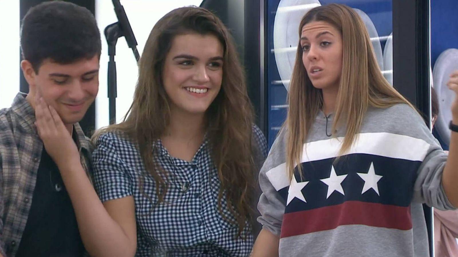 Foto: Alfred, Amaia y Miriam, concursantes de 'OT 2017'. (RTVE)