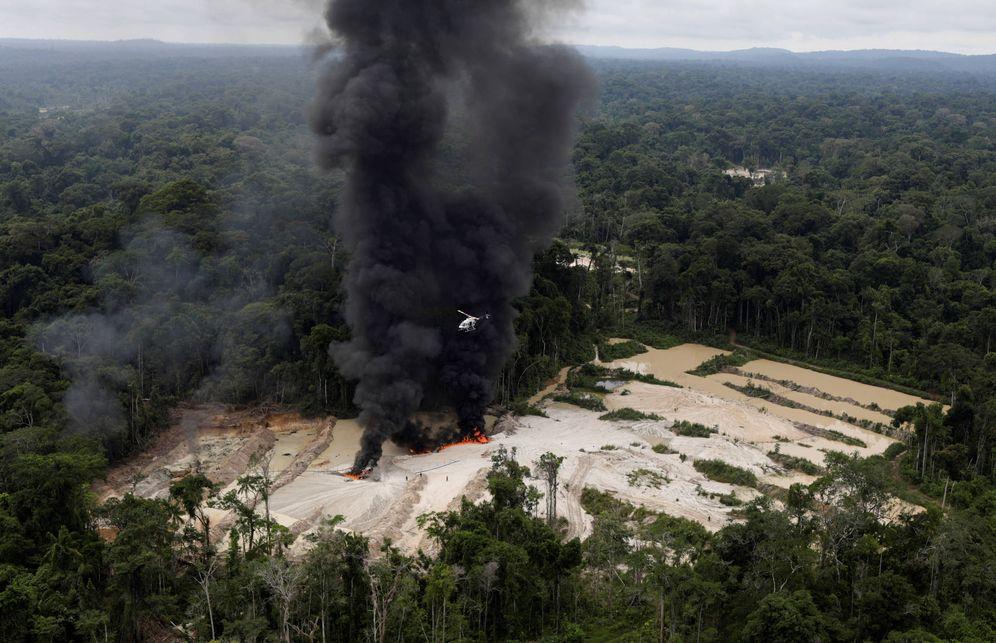 Foto: The Wider Image: Brazil's Amazon rainforest under siege by illegal mines
