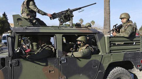 Fuerzas tunecinas matan a cinco presuntos terroristas cerca de la frontera con Argelia