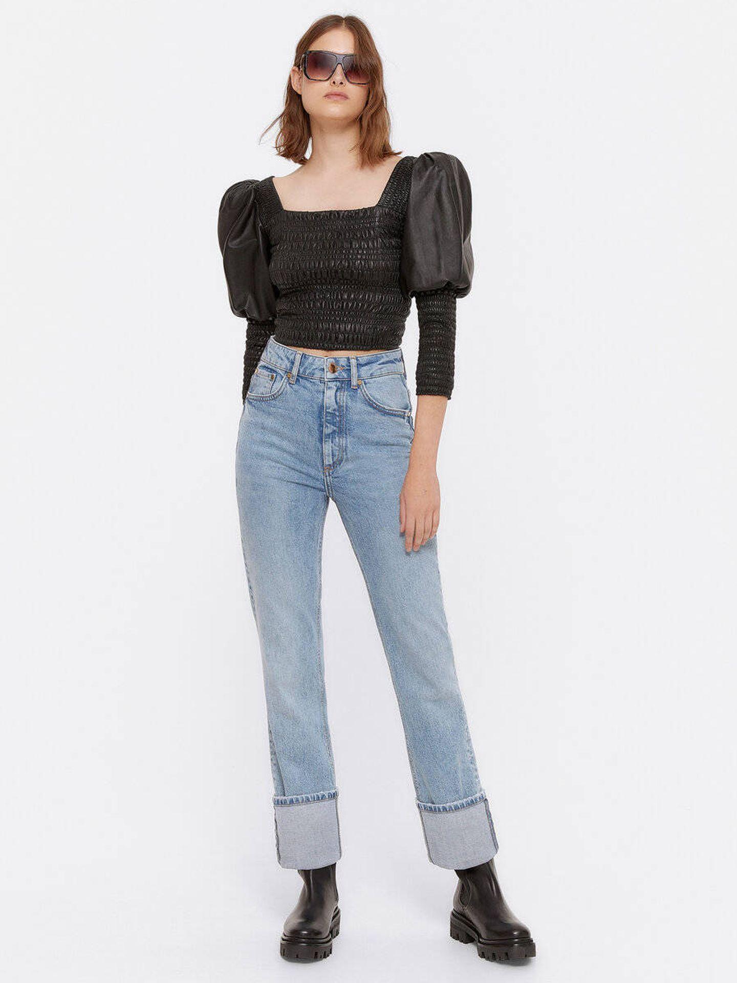 Los jeans de Uterqüe. (Cortesía)
