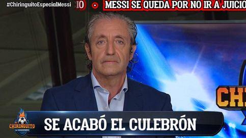 El tremendo rapapolvo de Josep Pedrerol ('El chiringuito') a Messi tras su anuncio