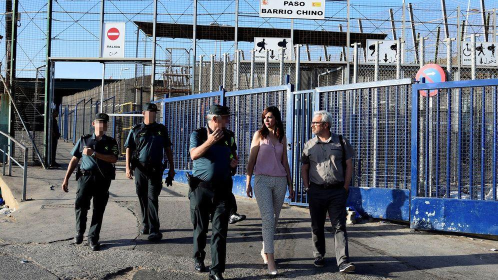 Foto: Frontera entre Marruecos y España. (EFE)