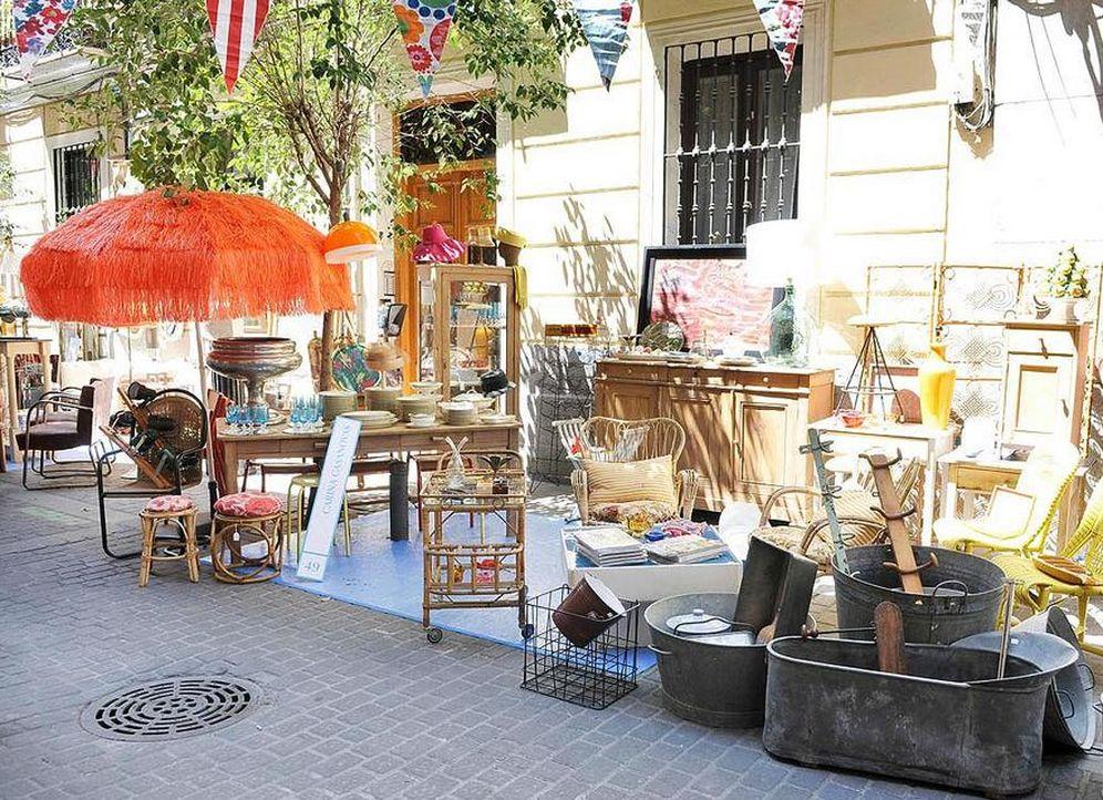 Foto: En Decoracción, el diseño y las antigüedades salen a la calle