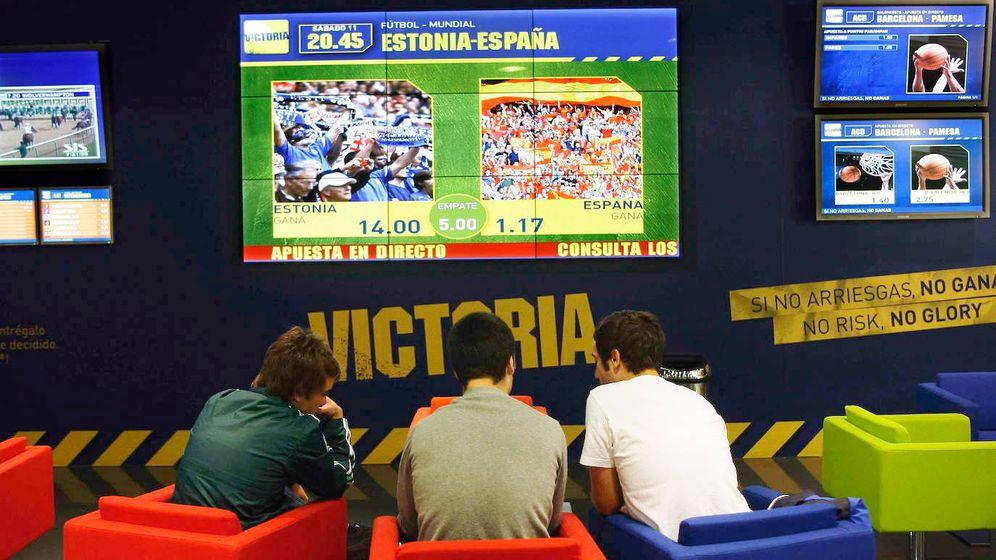 Foto: Casa de apuestas deportivas. (Reuters)