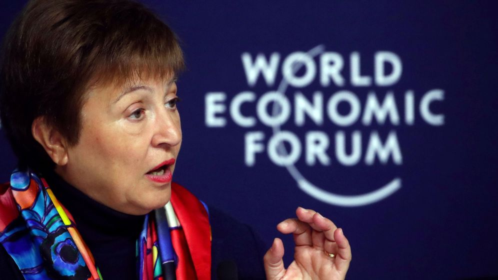 Foto: Kristalina Georgieva, presidenta del FMI.