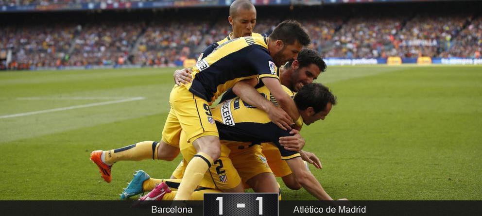 Foto: La valentía del Atlético de Madrid conquista la Liga y rompe diez años de 'duopolio'