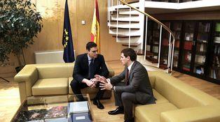 Pedro Sánchez ya tiene su propia salita del Palacio de la Moncloa en el Congreso