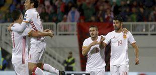 Post de España se divierte en Albania al ritmo que marca la pizarra de Lopetegui