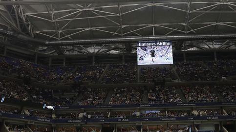 Así es el techo del US Open: 150 'kilos', 6 minutos en abrirse... y lo estrenó Nadal