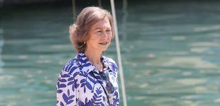 Post de La reina Sofía, abuela y jefa en Marivent ante la ausencia de su marido