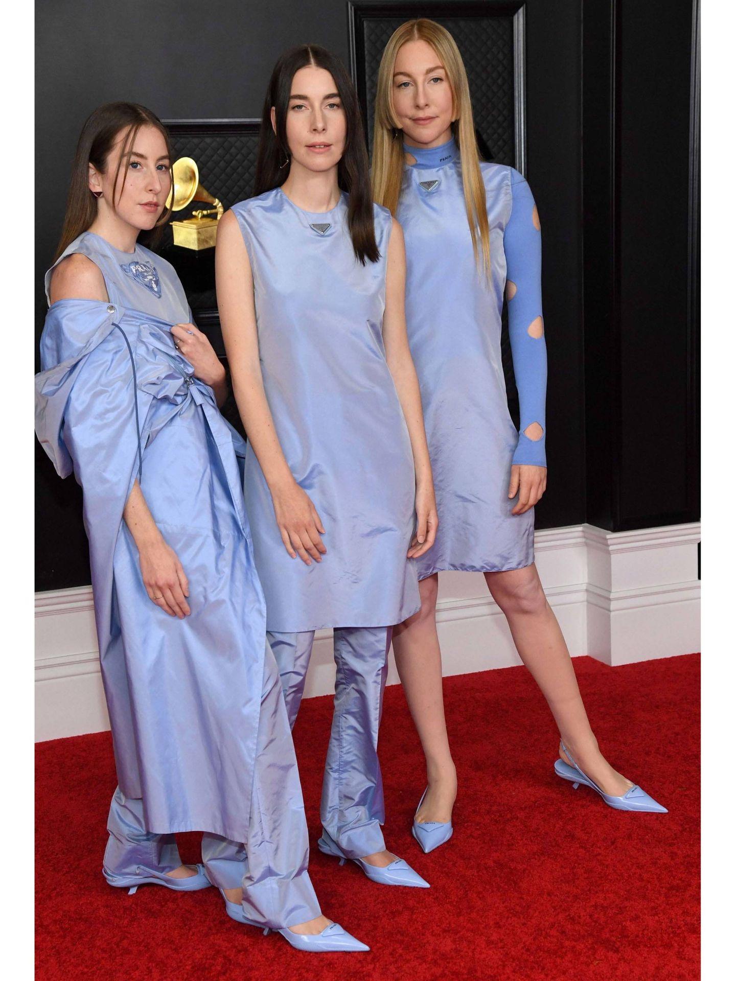 Alana Haim, Danielle Haim y Este Haim.  (EFE)