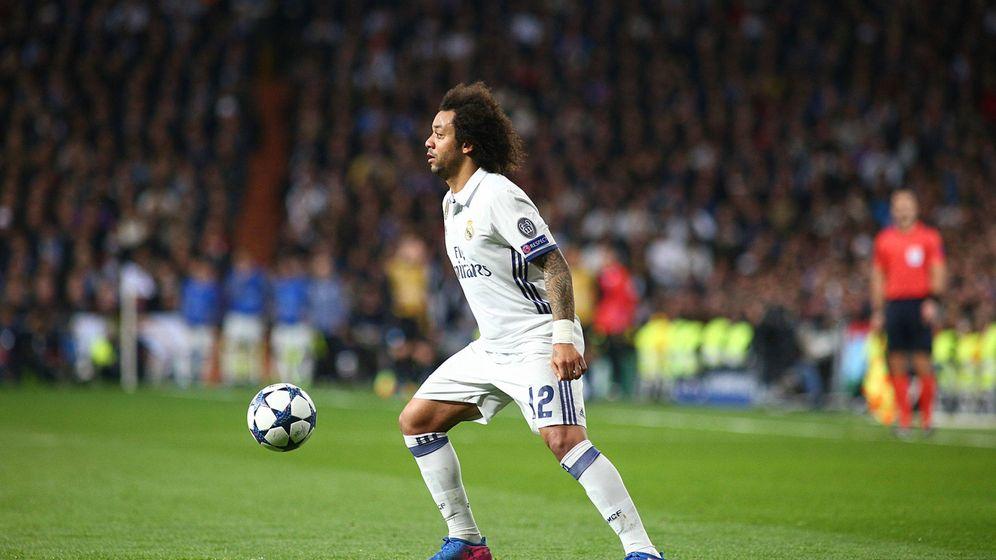Foto: Marcelo es indispensable en la creación de juego del Real Madrid (Iván Abanades Medina/Cordon Press).