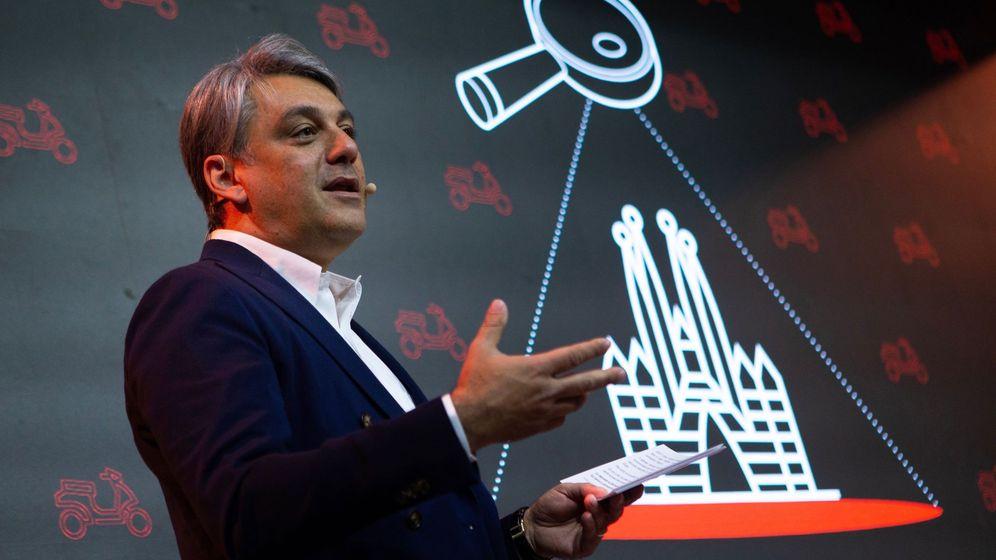 Foto: El presidente de Seat, Luca de Meo, en Barcelona. (EFE)