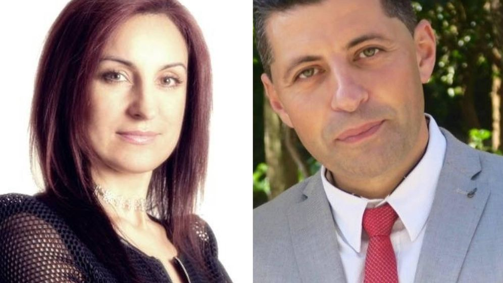 Foto: Isabel y Andrés, románticos empedernidos. (Facebook)