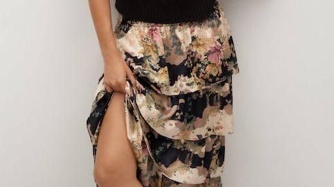 Esta falda de Mango reúne tres tendencias clave de la temporada