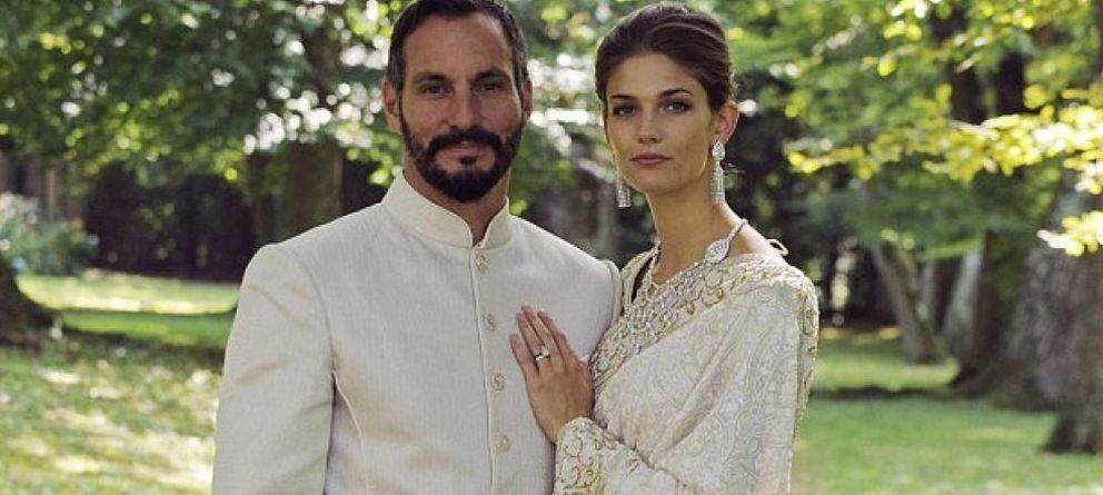 Foto: Boda del príncipe Rahim Aga Khan y Kendra Spears