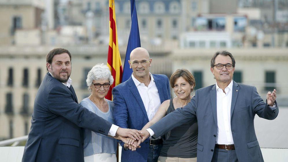 Foto: CDC y ERC presentan la lista unitaria hacia la independencia. (EFE)