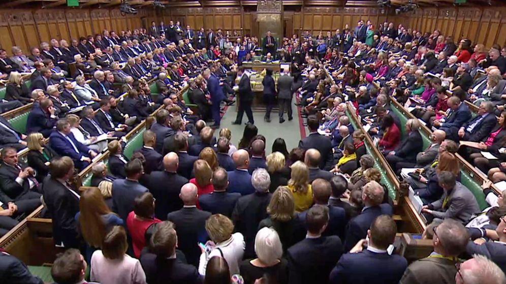 Foto: La sesión el sábado en Westminster. (Reuters)