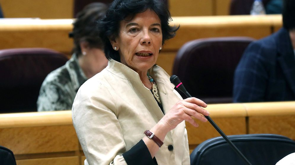 Foto: La ministra de Educación, Isabel Celáa (EFE)