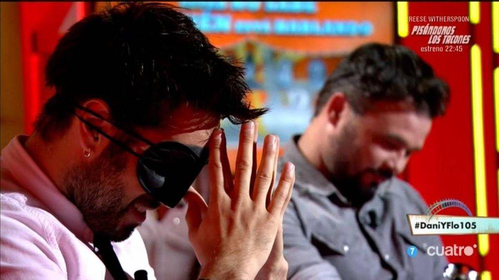 Foto: Gabriel Rufián provoca la huida de los espectadores de 'Dani & Flo'.