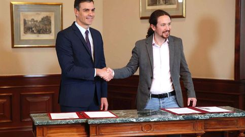 Este es el preacuerdo de Gobierno al que han llegado PSOE y Unidas Podemos