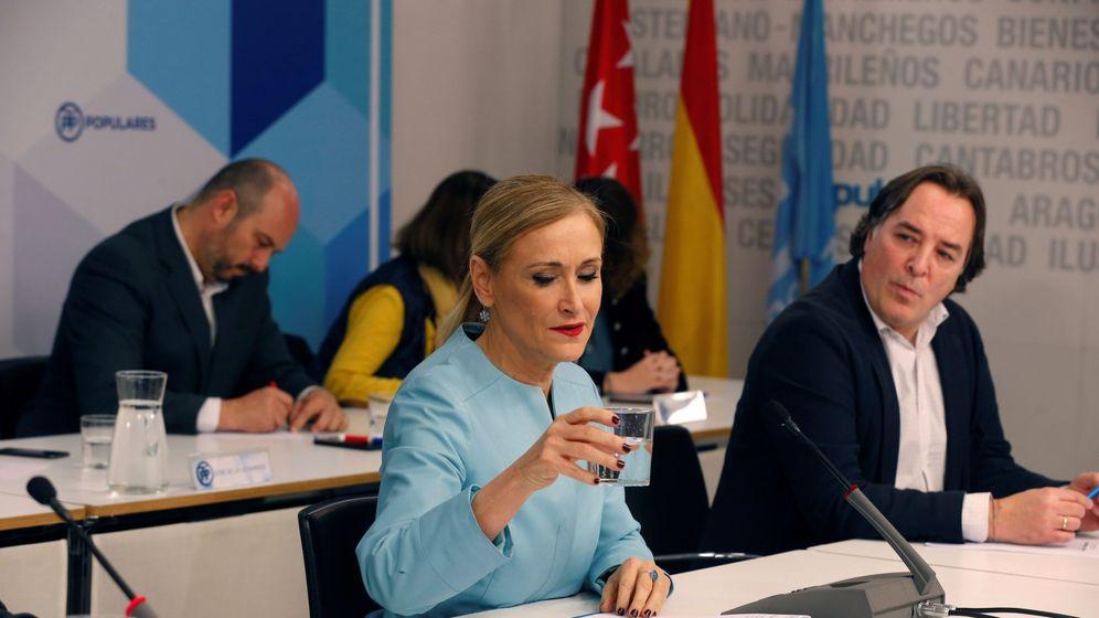 Foto: Cristina Cifuentes, durante una reunión del comité ejecutivo del PP de Madrid. (EFE)