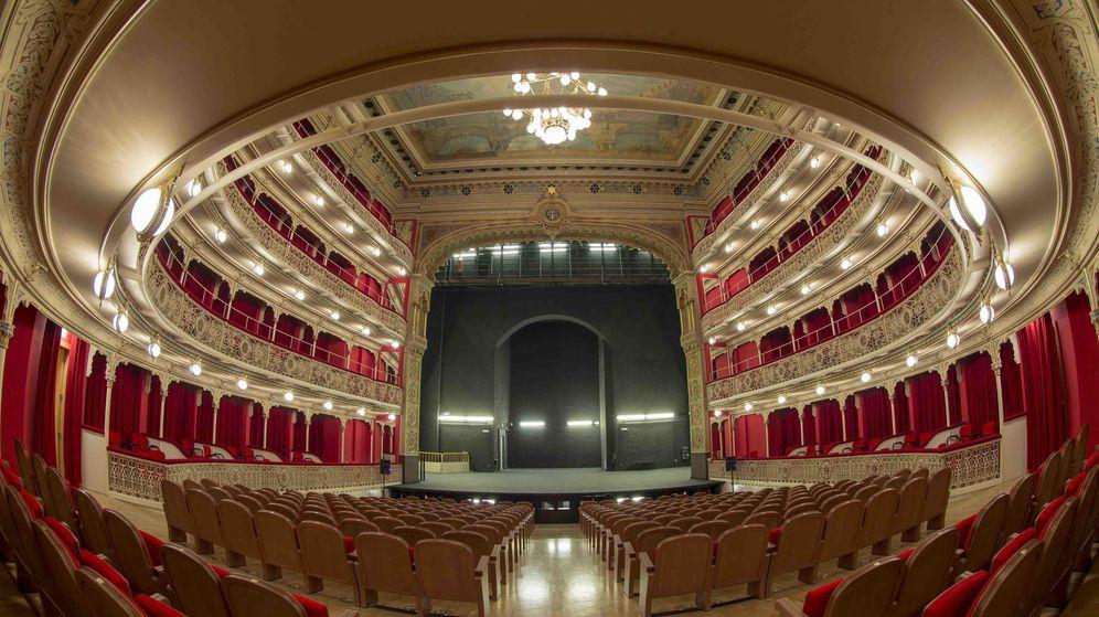 Foto: Imagen del Teatro de la Comedia, sede de la CNTC