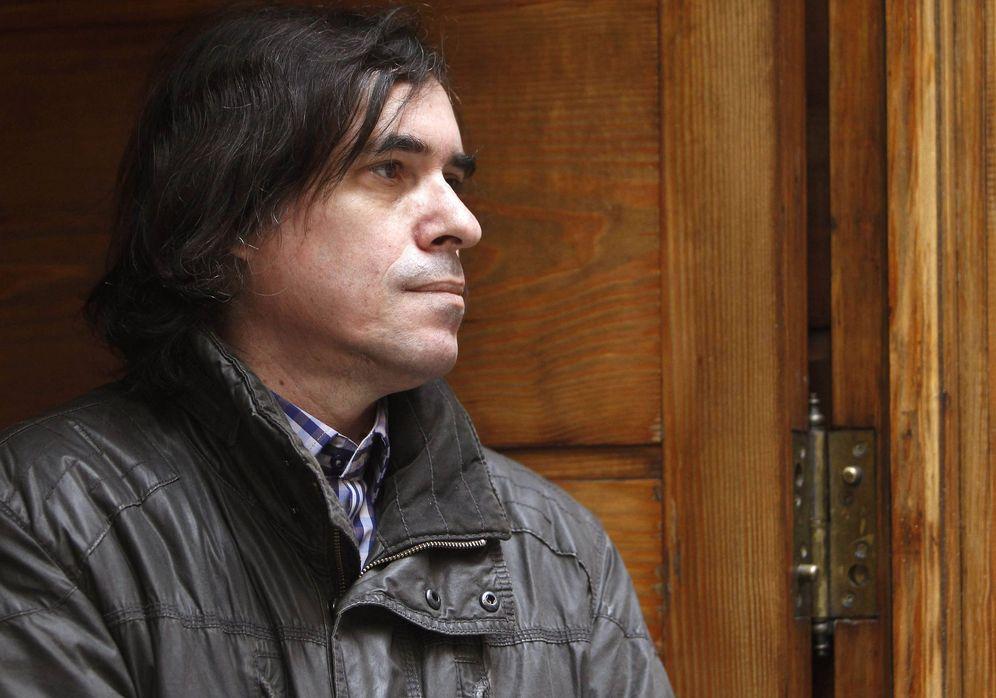 Foto: Mircea Cartarescu durante una visita en Madrid (EFE)