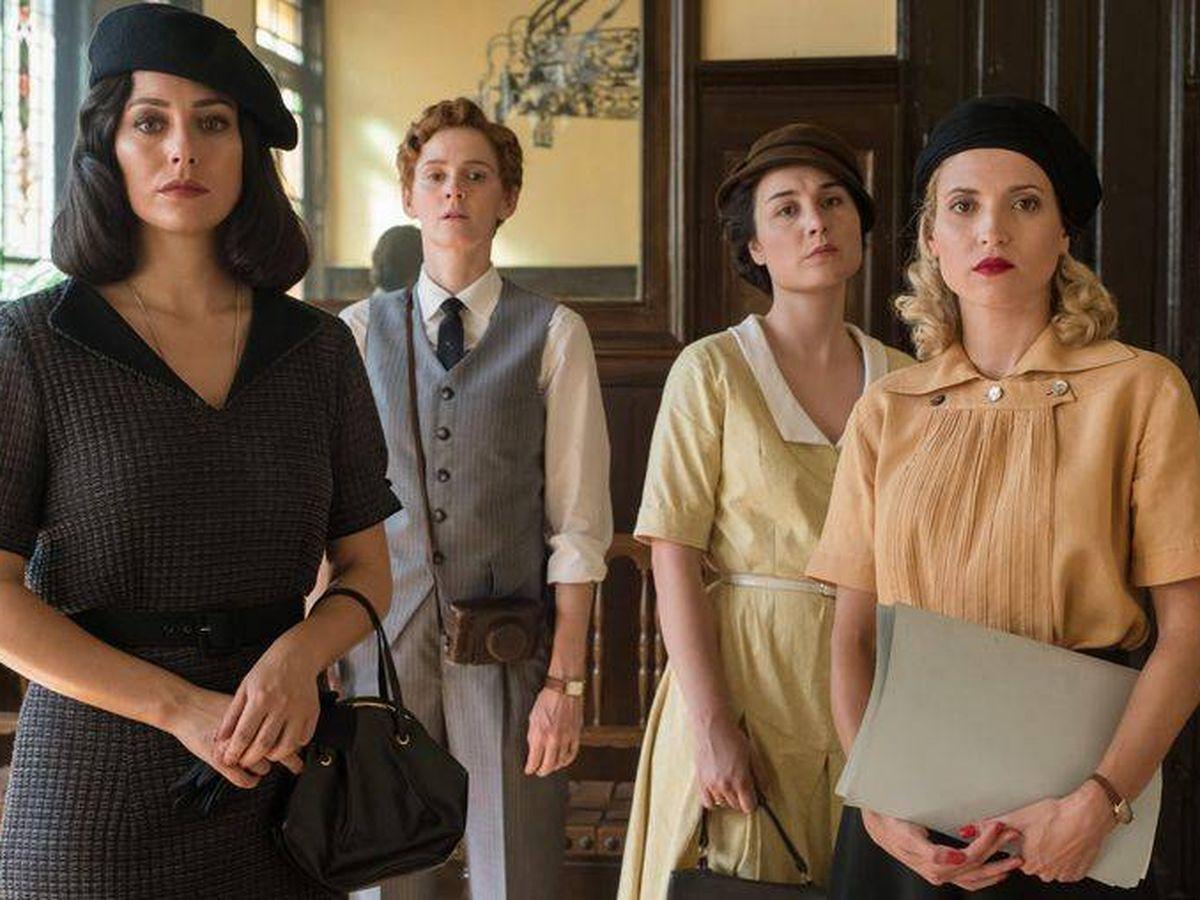 Foto: Las protagonistas de 'Las chicas del cable'. (Netflix)