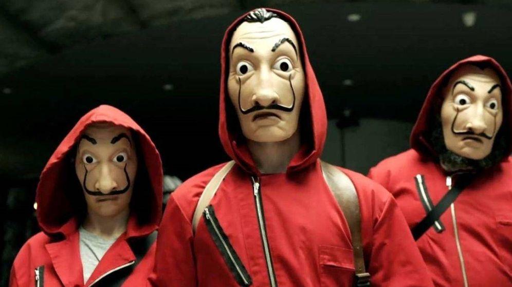Foto: Atuendos de los atracadores en 'La Casa de Papel' de Netflix. (EFE)