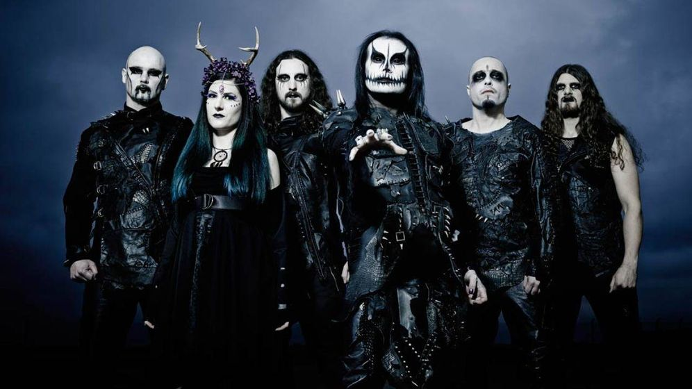 Foto: Cradle of Filth es una banda de metal extremo nacida en 1991 en Suffolk, Reino Unido.