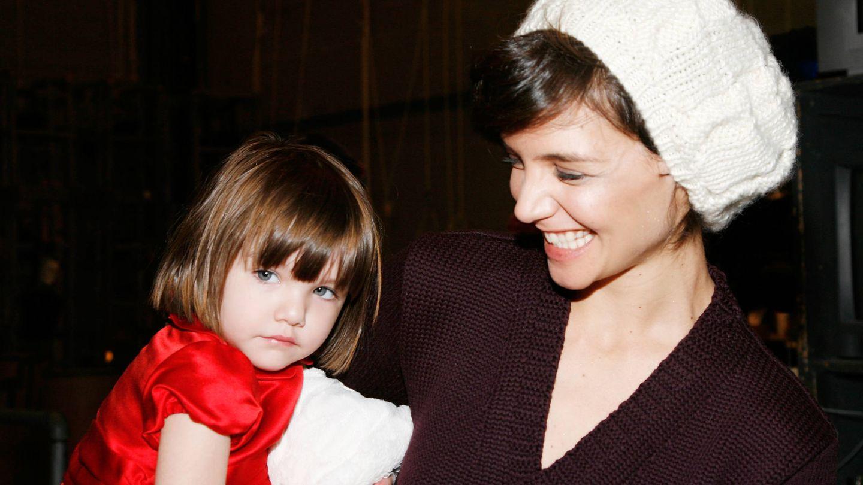 Katie y Suri. (Getty)