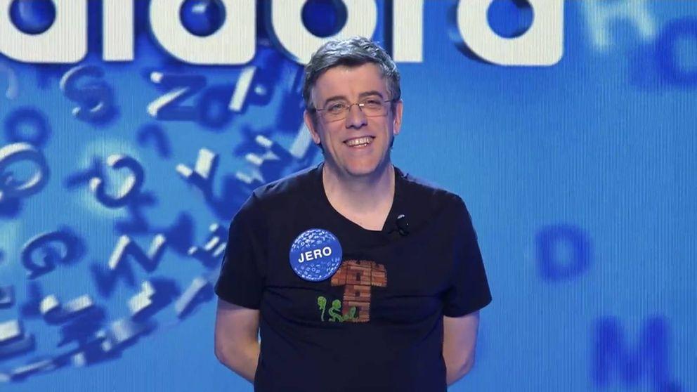 Jero, el hombre récord de 'Pasapalabra': acumula más de 240 programas