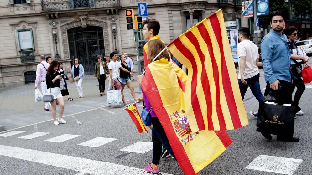 Foto: Europa pide que no haya violencia en la cuestión catalana. (Cordon Press)