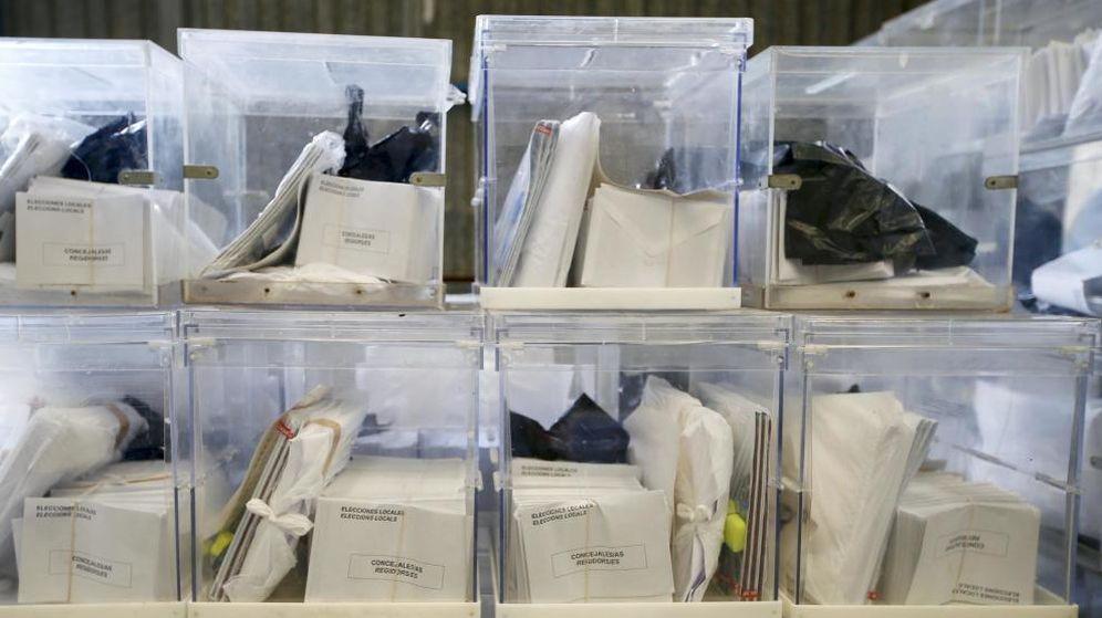 Foto: Las urnas que se utilizaron el 24-M (EFE)