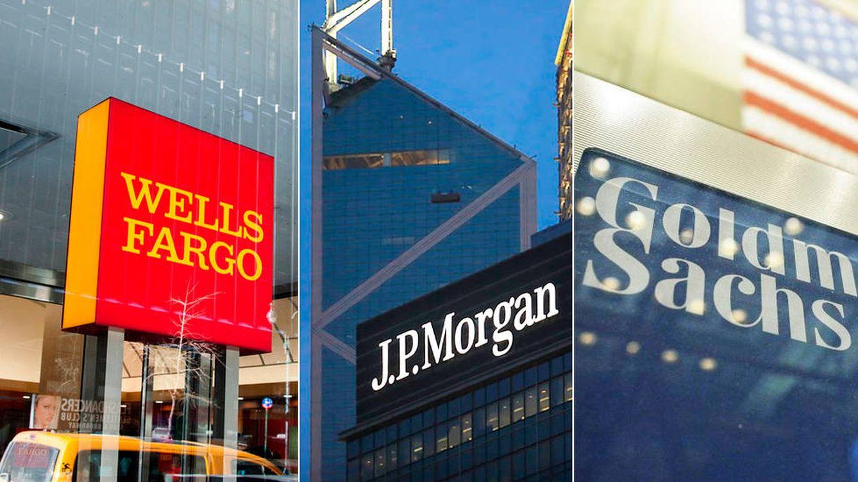 Goldman, JP Morgan y Wells Fargo baten expectativas en sus cuentas de resultados
