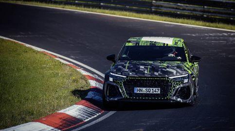 El Audi RS 3 Sedan pulveriza el récord de vuelta rápida de su clase en Nürburgring