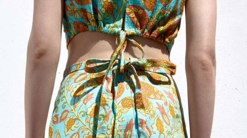Este conjunto de top y falda de Zara va a ser tu mejor compra de las rebajas de verano