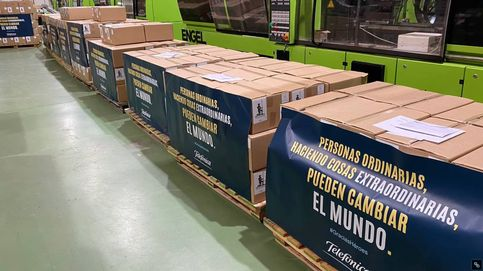 De las fábricas a los hospitales: así se importaron 150 toneladas de material sanitario