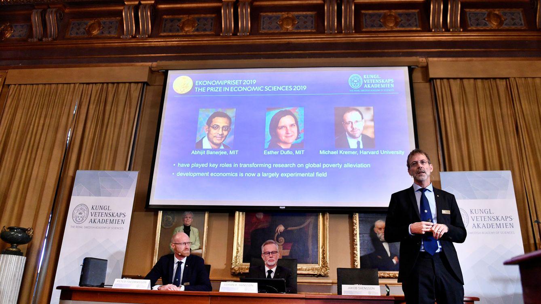 Abhijit Banerjee, Esther Duflo y Michael Kremer ganan el Nobel de Economía 2019
