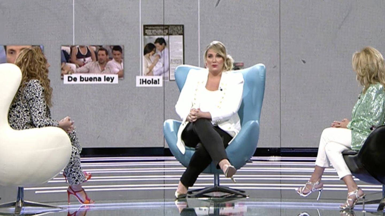 Rocío Carrasco, durante el programa. (Telecinco)