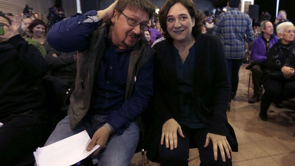 El CIS dispara a Colau y Domènech hacia la Generalitat y mantiene a Podemos segundo