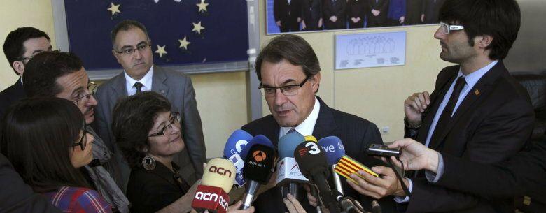 Mas transmite mensaje a la ce de que cataluña ya no puede asumir más recortes