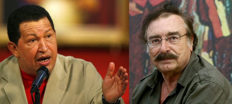 Foto: Hugo Chavez e Ignacio Ramonet. (Efe)
